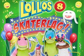 Lollos 8 - Skaterlag! (DVD)