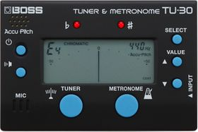 Boss Pro Tuner & Metronome TU30