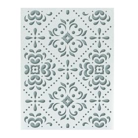 Ultimate Crafts Ooh La La Embossing Folder A2 - Juniper Pattern