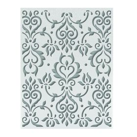 Ultimate Crafts Ooh La La Embossing Folder A2 - Zephyr Flourish