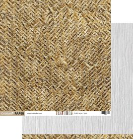 Celebr8 Textures Double Sided Paper - Basket Weave & Linen (10 Sheets)