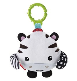 Fisher Price Peek-A-Boo Giggle Friends - Zebra