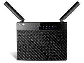 Tenda Gigabit 11ac Dual Band Wireless Router - Black
