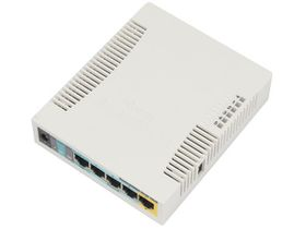 MikroTik RB951Ui USB and PoE 2GHz Wi-Fi Router - White