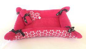 Wagworld - Medium Puppy Cuddle Bed Pack - Pink