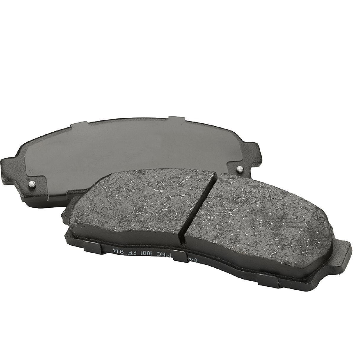 Brake Pad Material Types : Rhyno brake pads front nissan micra renault clio