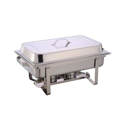 stainless steel 11 liter single tray chafing dish - food warmer