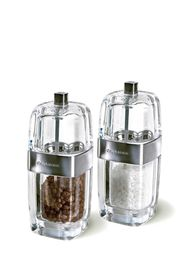 Cole and Mason - Precision Seville Acrylic and Chrome Salt and Pepper Mill - Gift Set - 14 cm