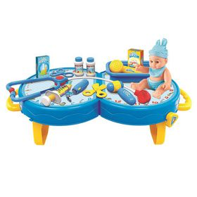 Jeronimo Doctor-Set Table - Blue