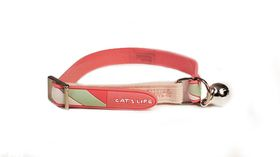 Cat's Life - Non Toxic PVC Candy Stripe - Small - Pink