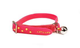 Cat's Life - Non Toxic PVC Little Polka dot - Small - Pink