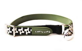 Cat's Life - Non Toxic PVC Little Hounds tooth - Medium - Green