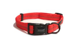 Dog's Life - Reflective Super soft Webbing H Harness - Small - Red