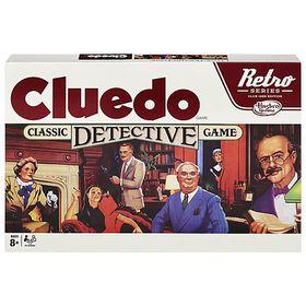 Cluedo Retro Board Game