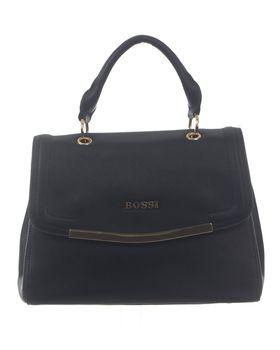 Bossi Ladies Handbag with Extra Sling - Black