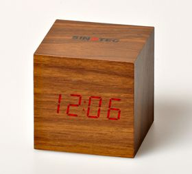 Sinotec Digital Wooden Clock