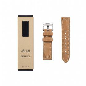 AVI-8 -LEATHER STRAP (BROWN) - AV-STRAP24-L01