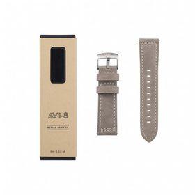 AVI-8 -LEATHER STRAP (BEIGE) - AV-STRAP24-L02