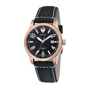 Swiss Eagle-SE-9029-06 CADET with Solid Stainless Steel IP Gold Case Watch