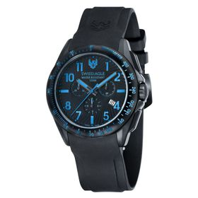 Swiss Eagle-SE-9061-06 TACTICAL with Solid Stainless Steel IP Black Case Watch