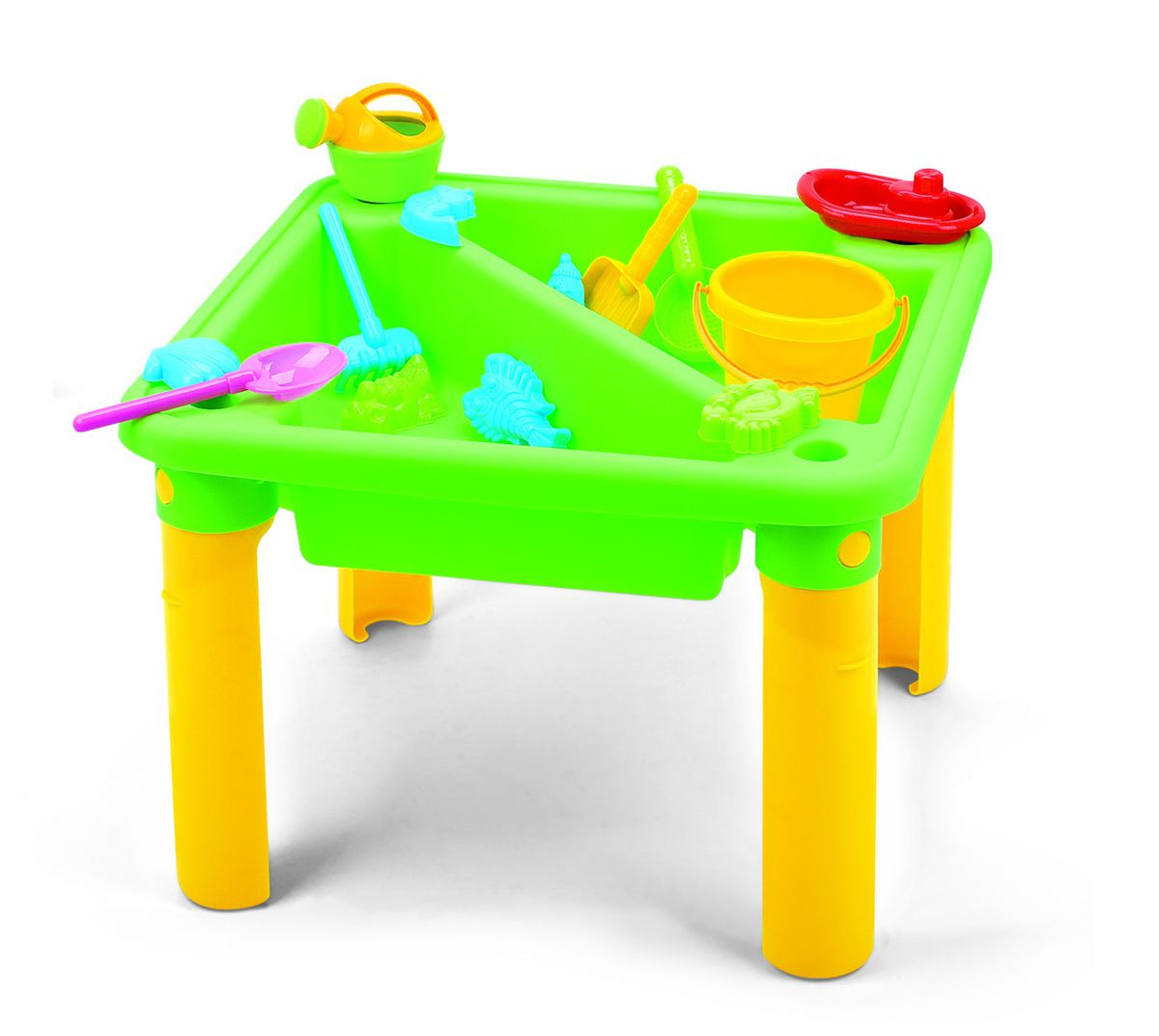 Fun Beginnings Sand And Water Table With Cover   19 Piece. Loading Zoom