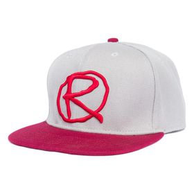 Rampworx Snapbacks - Grey & Burgundy