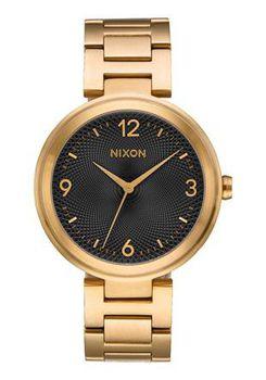 Nixon Chameleon Gold & Black Watch A991513-00