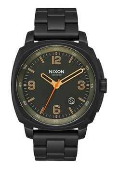 Nixon Charger All Black & Surplus Watch A10721032-00