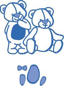 Kaisercraft Cutting Dies - Teddy Bears