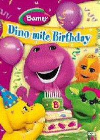 Barney Dino-mite Birthday - (DVD)