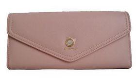 Fino Pu Leather Long Purse Sk-5082 - Pink