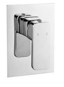 H2Flo - Quadrato Concealed Bath and Shower Mi xer