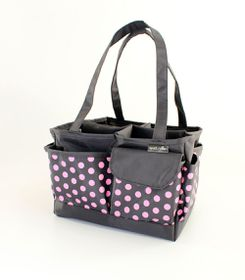 Spoilt Rotten Large Bag - Pretty Polka Dots - Pink