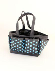 Spoilt Rotten Small Bag - Pretty Polka Dots - Blue