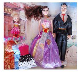 Family Fashion Doll Set