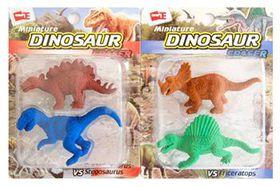 Miniature Dinosaur Eraser Toys (4 Included)
