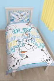 Disney Frozen Olaf Single Rotary Duvet Set