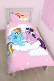 My Little Pony Equestria Single Panel Duvet