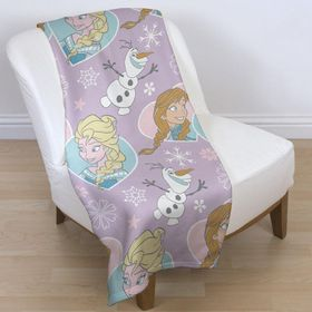 Disney Frozen Crystal Rotary Fleece Blanket
