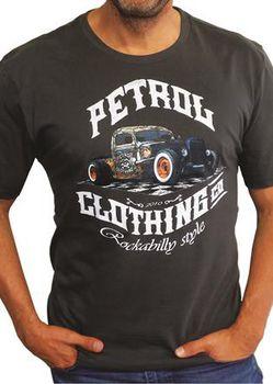 Petrol Clothing Co Men's Rusty Rod T-Shirt - Charcoal