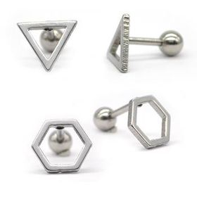 Xcalibur Men's Stainless Steel Earring TXE053