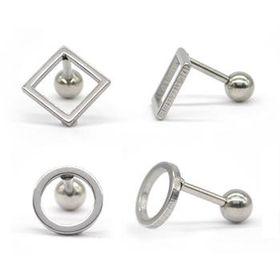 Xcalibur Men's Stainless Steel Earring TXE054