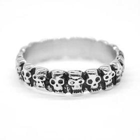 Xcalibur Men's Stainless Steel Ring TXR014 (Ring: V)
