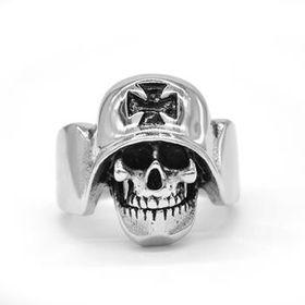 Xcalibur Men's Stainless Steel Ring TXR018 (Ring: T)
