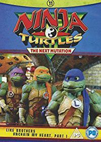 Teenage Mutant Ninja Turtles The Next Mutation, Ep 21+22 (DVD)