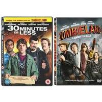 30 Minutes Or Less / Zombieland (DVD)