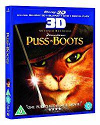 Puss In Boots (3D + 2D Blu-ray)
