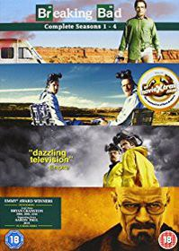 Breaking Bad Season 1-4 Box Set (DVD)