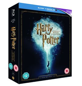 Harry Potter Box Set 2016 Edition (Blu-ray) (Parallel Import)