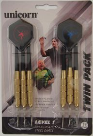 Unicorn SDL Level 1 - Brass Darts - 2 Pack - 19g